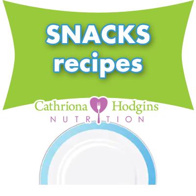 Snacks Recipes Cathriona Hodgins Nutrition